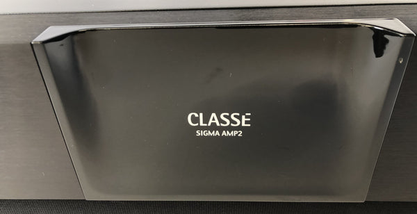 Classe SIGMA AMP2 Solid State Stereo Amplifier in Box