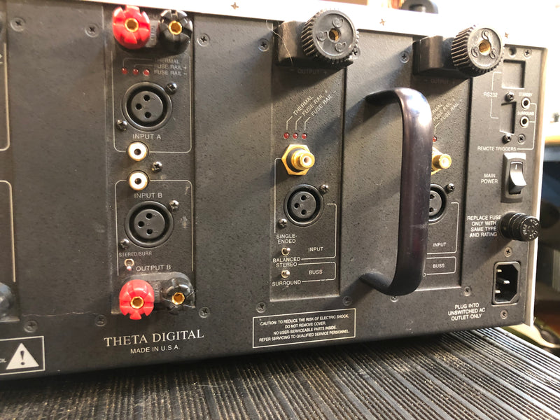 Theta Dreadnaught High Current 7 Channel Theater Amplifier
