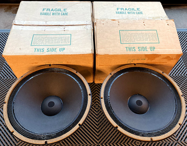 Altec Lansing Model 515B Drivers, Brand New In Their Original Boxes!