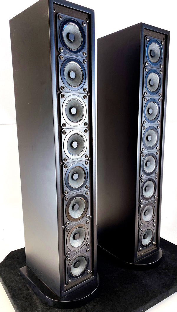 Sequerra Line Source Model 10-8 Speakers - Super Rare