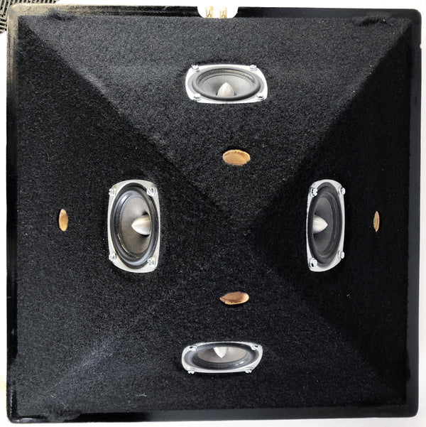 nOrh Model A Pyramid Speakers