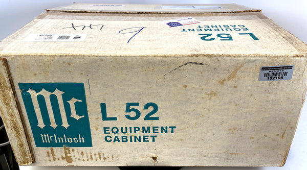 "McIntosh L52 Wood Cabinet ""New Old Stock"" Boxed!"