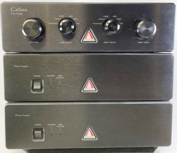 Aesthetix Callisto - Signature Edition Tube Preamplifier with Dual Power Supplies