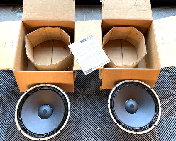 Altec Lansing Model 515B Drivers - Brand New In Boxes!