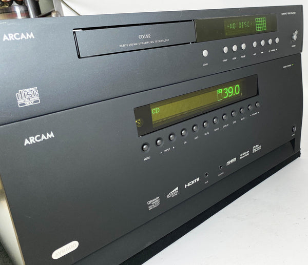 Arcam AVR600 Receiver With Free Matching Flagship DiVA CD Player!