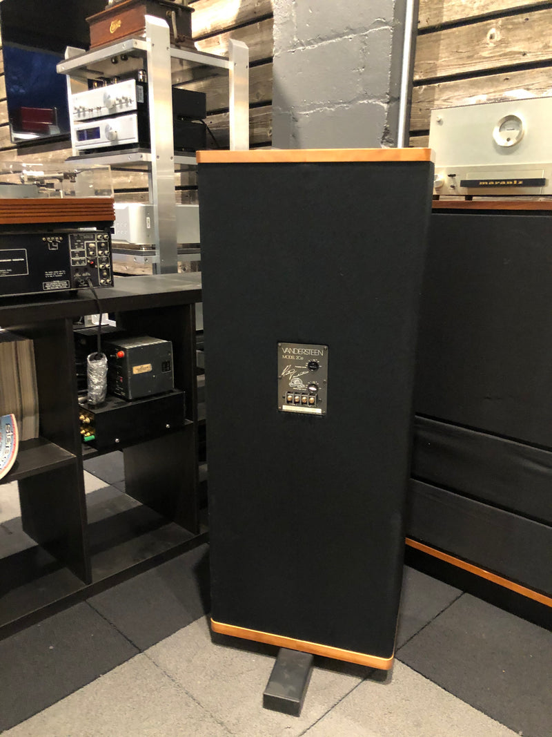 Vandersteen Model 2Ce Signature II 30th Anniversary Speakers with Sound Anchor Stands