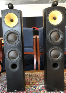 B&W (Bowers & Wilkins) Nautilus 804N Speakers in Black