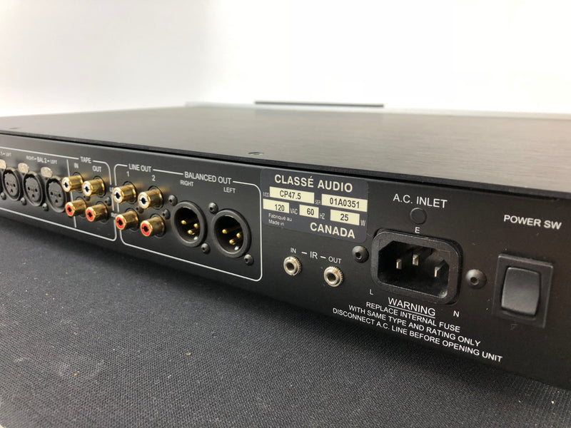 Classe Audio CP-47.5 Solid State Analog Preamp with Remote