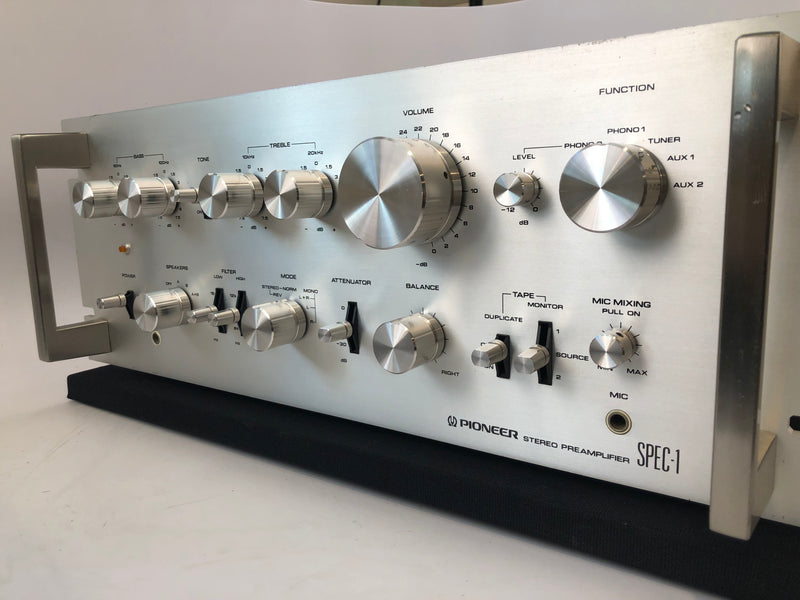 Pioneer SPEC-1 Vintage Solid State Stereo Preamp with Phono, 110V/220V Version (A)