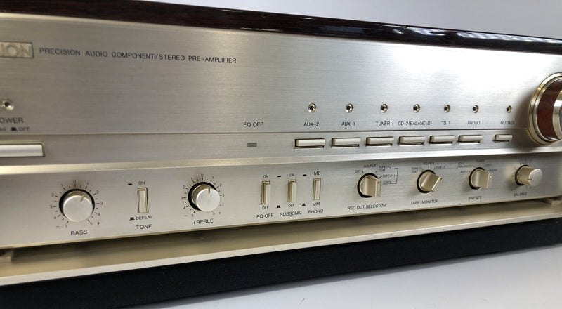 Denon PRA-2000RG - Reference Gold Limited Edition Preamp with Phono - RARE