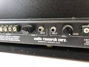 Audio Research D-90 Vintage Tube Amplifier USA Made! 80 Glorious Watts