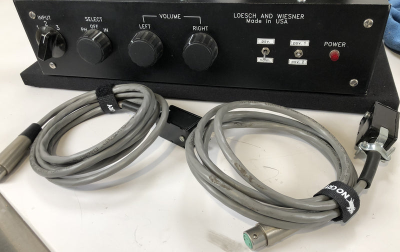 Loesch And Wiesner Tube Preamp with Phono and Dual Outboard Power Supplies