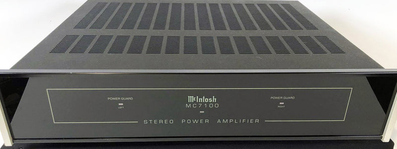 McIntosh MC7100 Compact Amplifier - Solid State Powerhouse