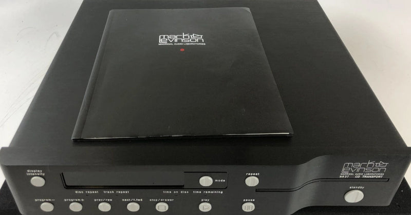 Mark Levinson No.37 CD Transport with Original Manual, Freshly Serviced