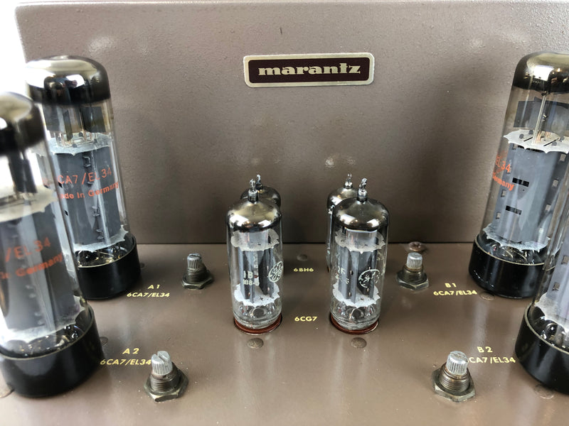 Marantz Model 8B Stereo Tube Amplifier - Highly Collectible (B)