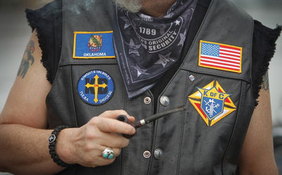 Lethal Threat \ Why do Bikers have Embroidered Patches on their Jackets and Vests?