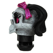 Girl Skull Dashboard Topper