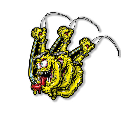 Shifter Hot Rod Monster Paper Air Freshener 3-Pack