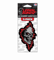 Ripper Skull Paper Air Freshener 3-Pack