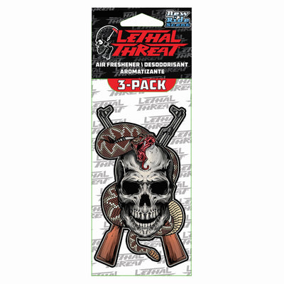 Snake Bite Paper Air Freshener 3-Pack