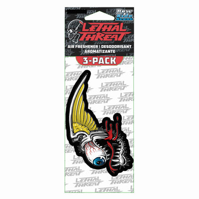 Winged Eye Ball Paper Air Freshener 3-Pack