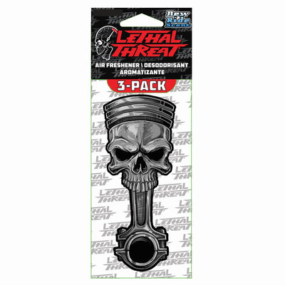 Skull Piston Paper Air Freshener 3-Pack