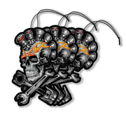 Engine Skull Paper Air Freshener 3-Pack