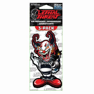 Evil Clown Paper Air Freshener 3-Pack