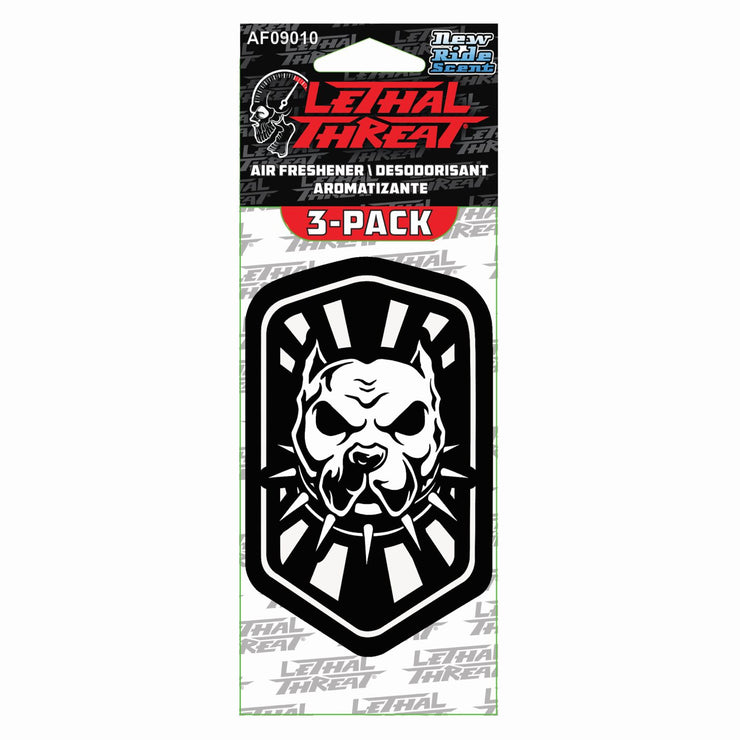 Pitbull Paper Air Freshener 3-Pack