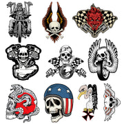 10 Stickers Biker Series