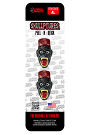Grease Monkey 3D Stick Ons - Two Per Pack