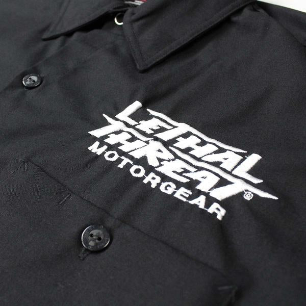 Piston Angel Embroidered Work Shirt