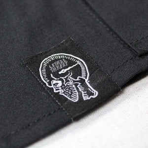 Engine Skull Embroidered Work Shirt