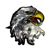 Eagle Head Metal Hitch Plug