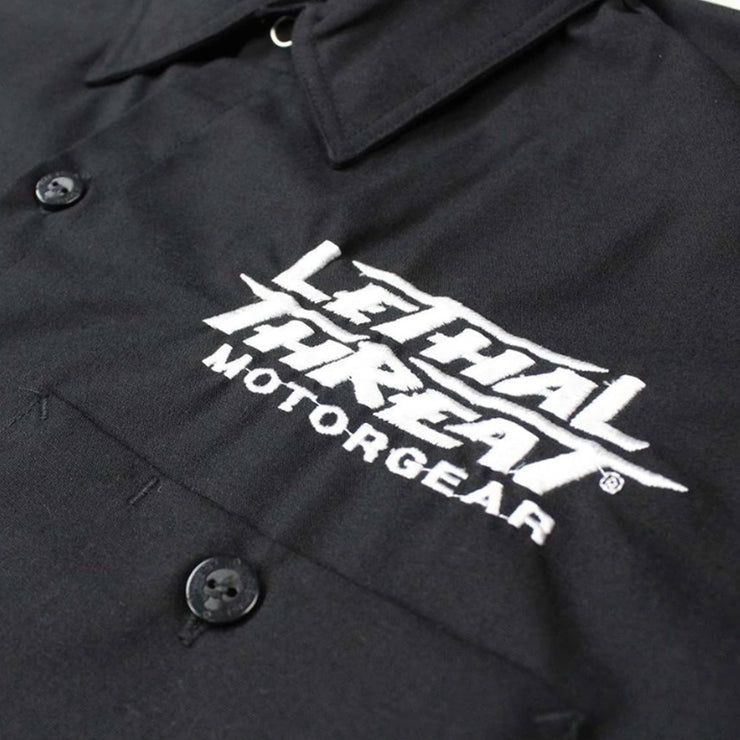 Bikes & Rods Embroidered Work Shirt