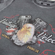 Vintage Velocity Eagle Motorcycle Tee