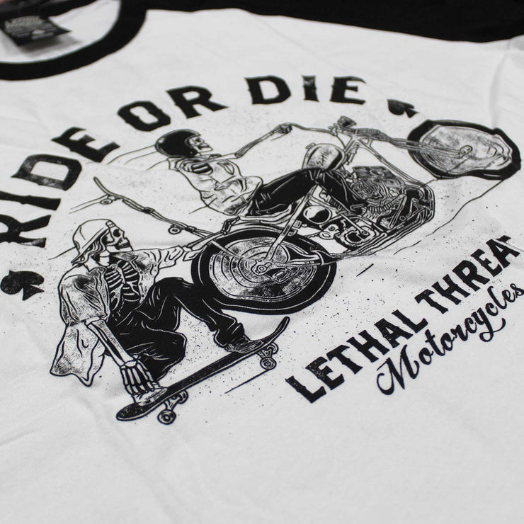 Ride Or Die Raglan Shirt