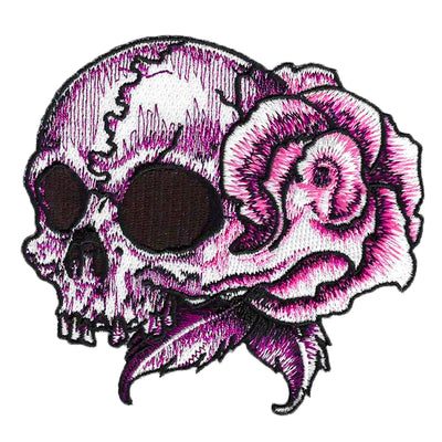 Rose Skull LT Fashion Patch