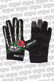 Red Rose Bones Gloves