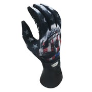 USA SKULL Hand Gloves