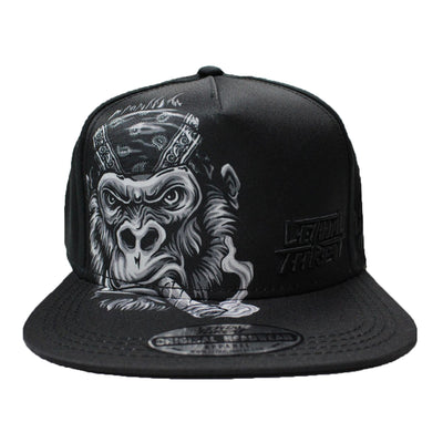 Gorilla Cigar Hat Flat Bill