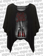 Hell on Heels Split Back Shirt