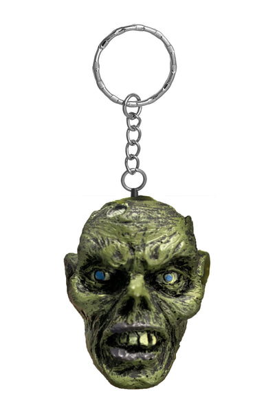 Green Zombie Key Chain