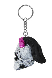 Girl Skull Key Chain