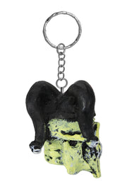 Jester Skull Key Chain