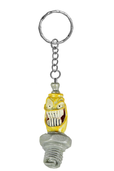 Mr Sparky Key Chain