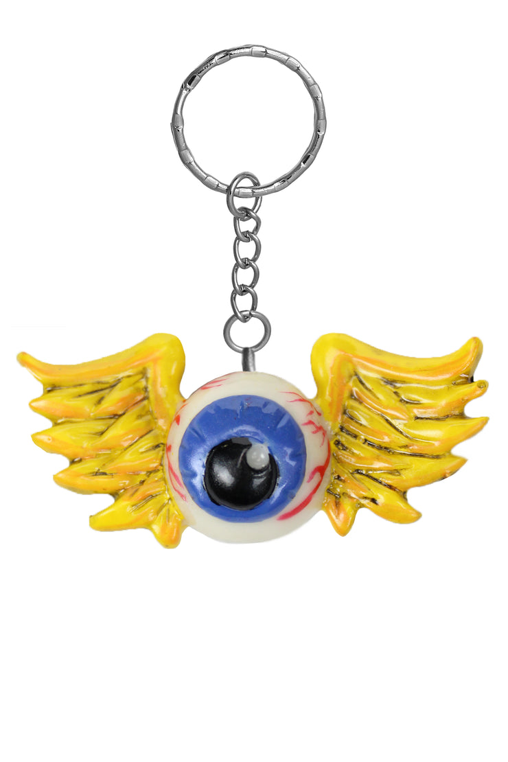 Flying Eyeball Key Chain
