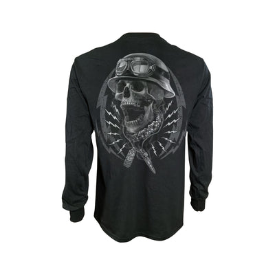 Flash and Bones Men's Long Sleeve Shirt
