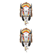 Cow Skull Decal