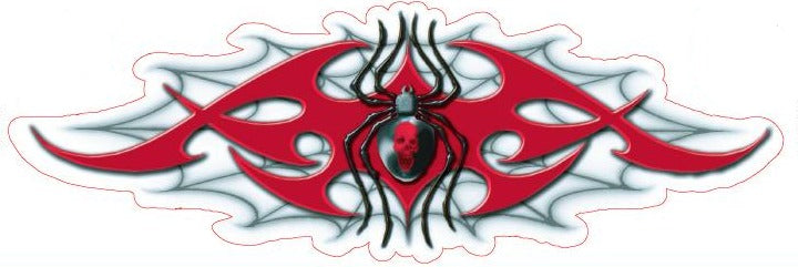 Tribal Spider Web Decal